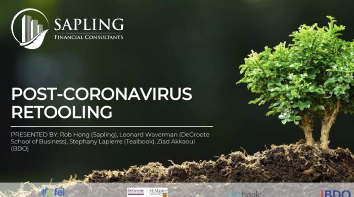 Post-Coronavirus Retooling